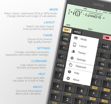 HiPER Scientific Calculator 截圖 9