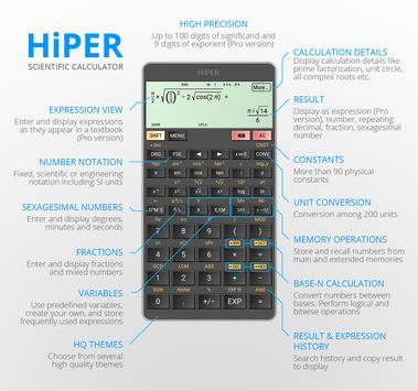 HiPER Scientific Calculator 海報