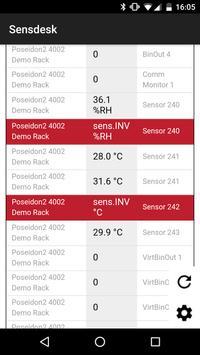 SensDesk Mobile screenshot 1