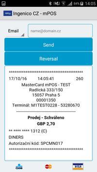 Ingenico CZ - mPOS screenshot 4