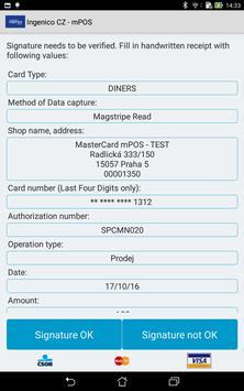 Ingenico CZ - mPOS apk screenshot