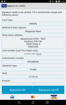 Ingenico CZ - mPOS screenshot 5