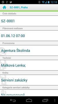 erpDROID Servis a údržba apk screenshot