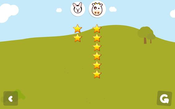 Memory game for kids - animals apk screenshot