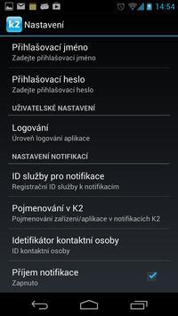 K2 Notifikace poster