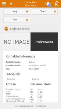Tenis - Ligový portál screenshot 4