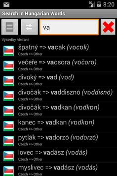 Dictionary Czech Hungarian apk screenshot