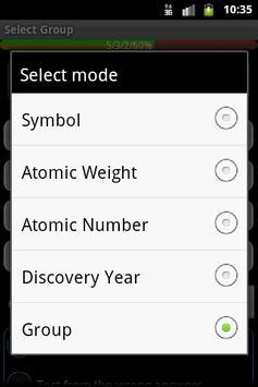 Periodic Table Big Quiz apk screenshot