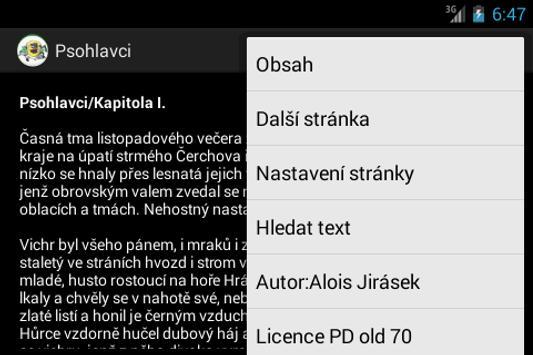 Psohlavci Alois Jirasek Kniha screenshot 1