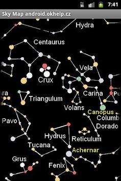 Sky Map of Constellations screenshot 2
