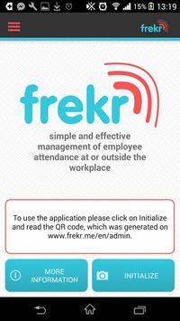Frekr - attendance system screenshot 1