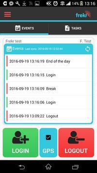 Frekr - attendance system screenshot 2