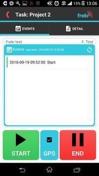 Frekr - attendance system screenshot 4