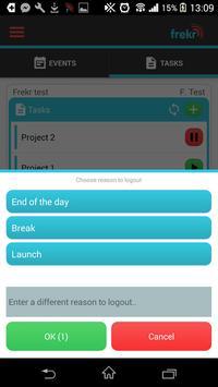 Frekr - attendance system screenshot 5
