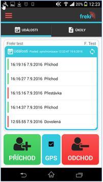 Frekr - attendance system screenshot 6