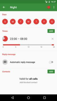 CallBlock - Smart call blocker screenshot 1