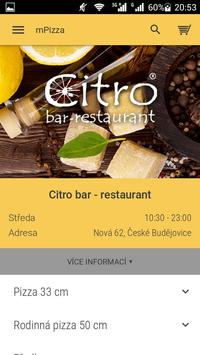 Citro bar - restaurant poster