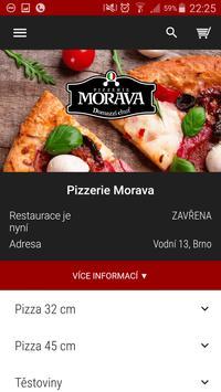Pizzerie Morava Brno poster
