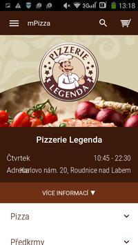 Pizzerie Legenda poster