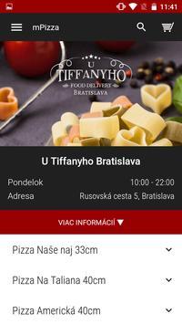 U Tiffanyho Bratislava poster