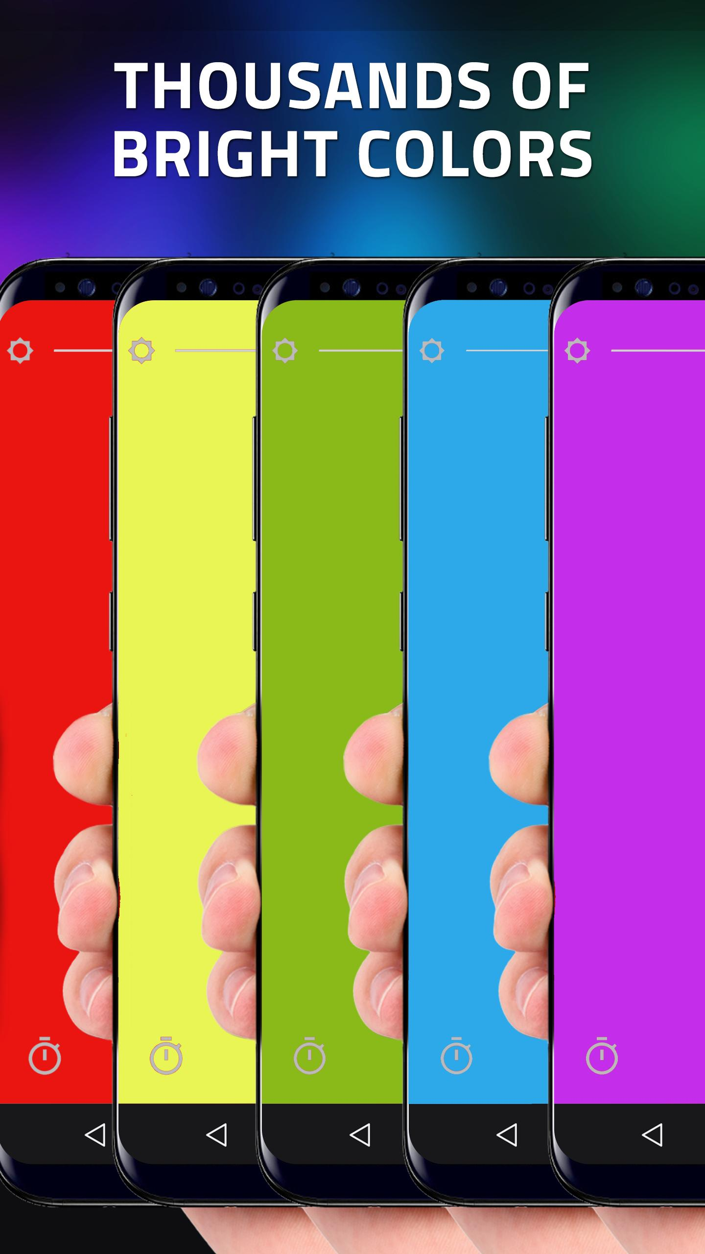 Screen Flashlight + Color Strobe for Android - APK Download