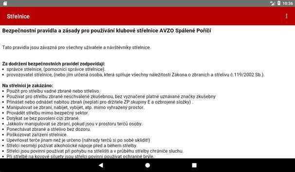 Shooting range Spalene Porici screenshot 6