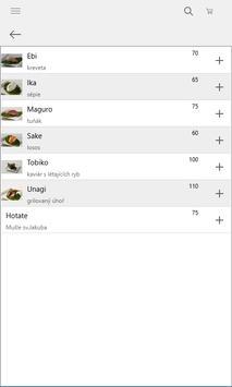 Tobiko Sushi screenshot 1