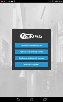Piano POS poster