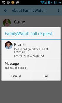 Dependant's FamilyWatch apk screenshot
