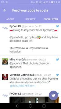 CZ PyCon 2016 apk screenshot