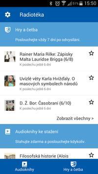 Radiotéka: audioknihy do kapsy poster