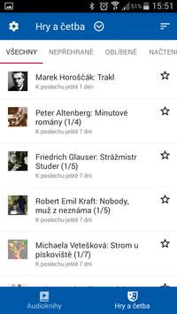 Radiotéka: audioknihy do kapsy apk screenshot