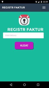 Invoice Registry - Pilot run poster