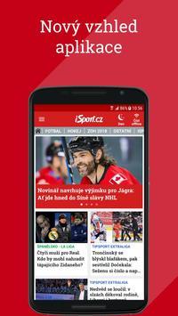 iSport.cz: sportovní zprávy, fotbal, hokej, tenis poster