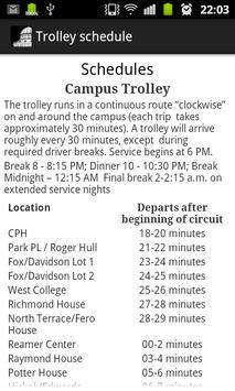 Union College Trolley screenshot 2