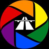 Dash Cam Travel – car camera icon