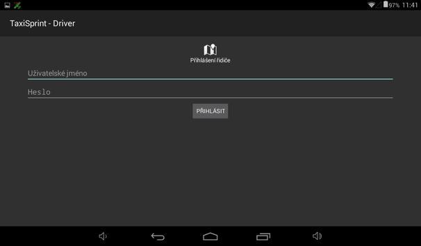 100taxi - pro řidiče NOVÁ! apk screenshot