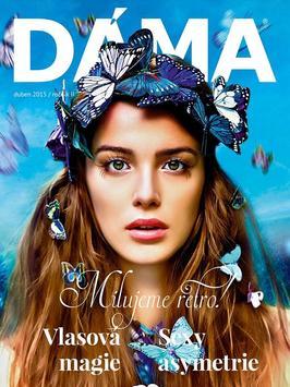 DÁMA luxury magazine poster