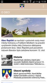 Obec Řepiště apk screenshot