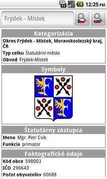 Obce.info screenshot 2