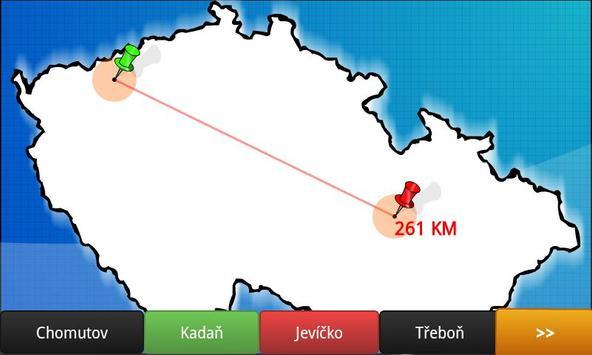 Blank map Czech republic BETA screenshot 1