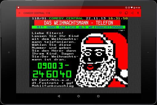 Teletext apk screenshot