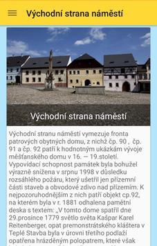 Úterý - turistický průvodce apk screenshot