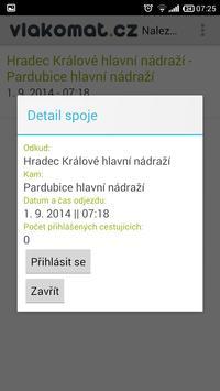 Vlakomat.cz apk screenshot
