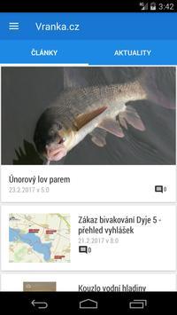 Rybářská aplikace screenshot 4