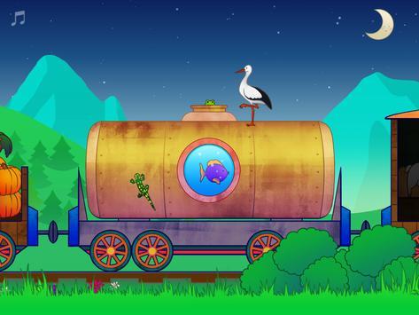 Animal Train for Toddlers apk screenshot