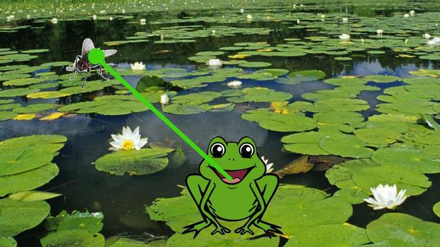 Feed Frog – animals for kids poster