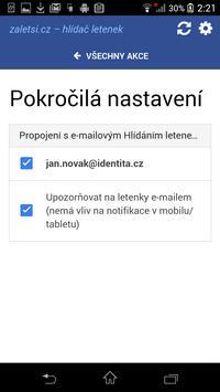 zaletsi.cz – hlídač letenek apk screenshot
