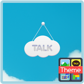 cloud 카카오톡 테마 icon