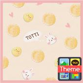 토띠_크래커 카톡 테마 icon